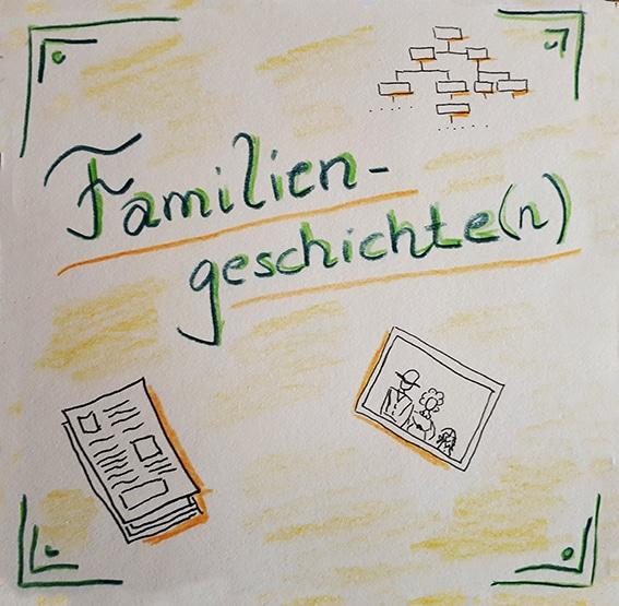 Familiengeschichte-Skizze-(c) Michaela Frölich